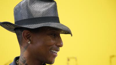 Pharrell Williams Hat Widescreen Wallpaper 60979