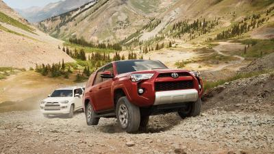 Toyota 4Runner Off Roading Desktop Wallpaper 61609