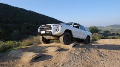 White Toyota 4Runner Wallpaper 61599
