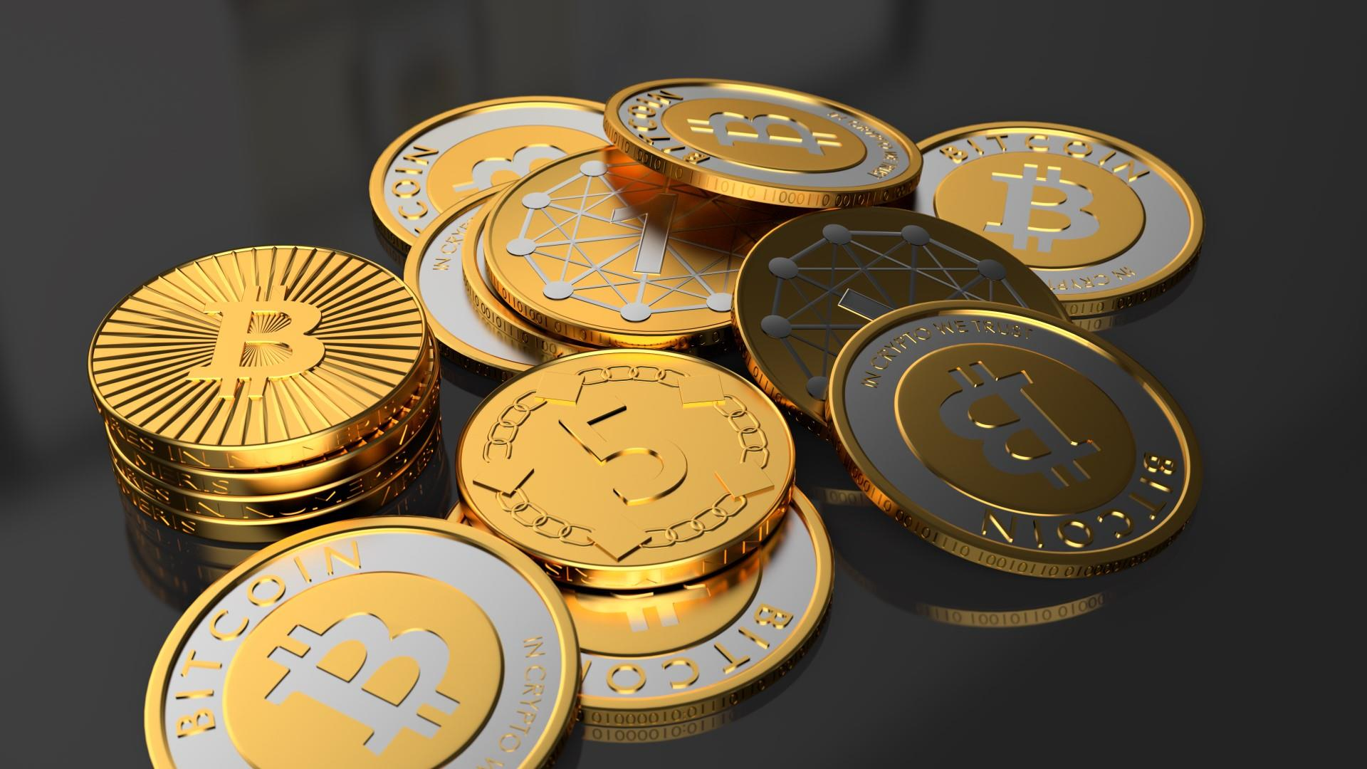 3d bitcoin wallpaper 62339