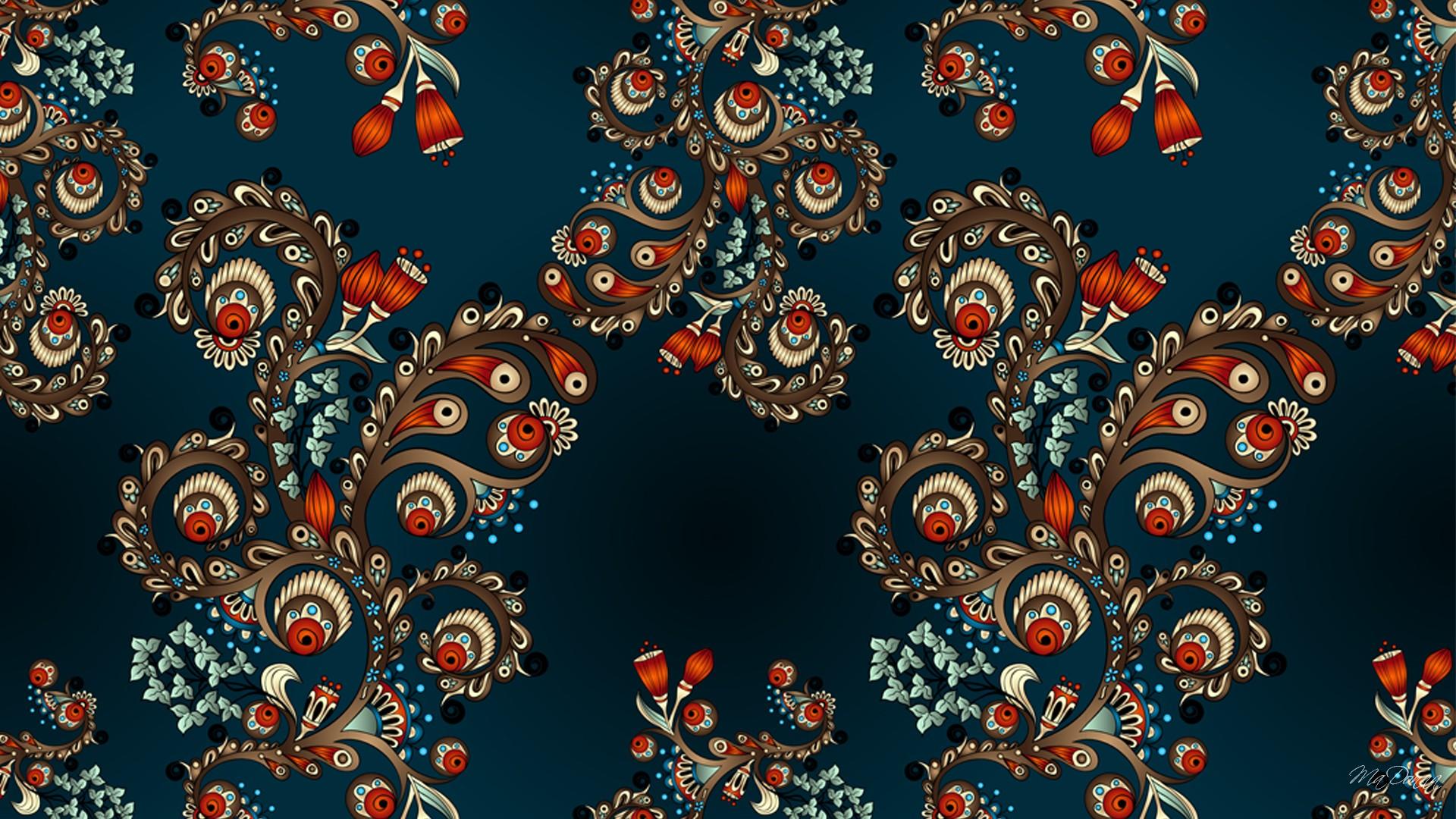 abstract paisley desktop wallpaper 61423