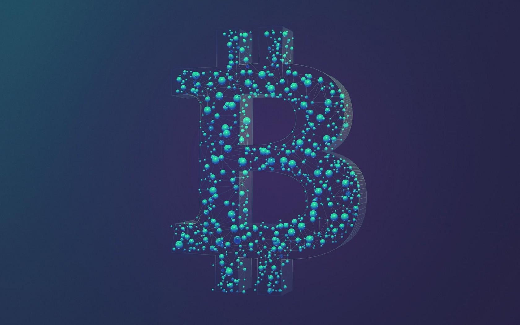 bitcoin logo computer wallpaper 62345