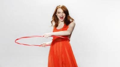 Happy Emma Stone Wallpaper Background 61002