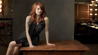 Hot Emma Stone Widescreen Wallpaper 61003