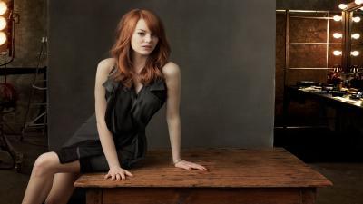 Hot Emma Stone Widescreen Wallpaper 61003