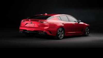 Kia Stinger Rear View Wallpaper 59823