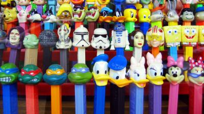 Pez Dispensers Desktop Wallpaper 62463
