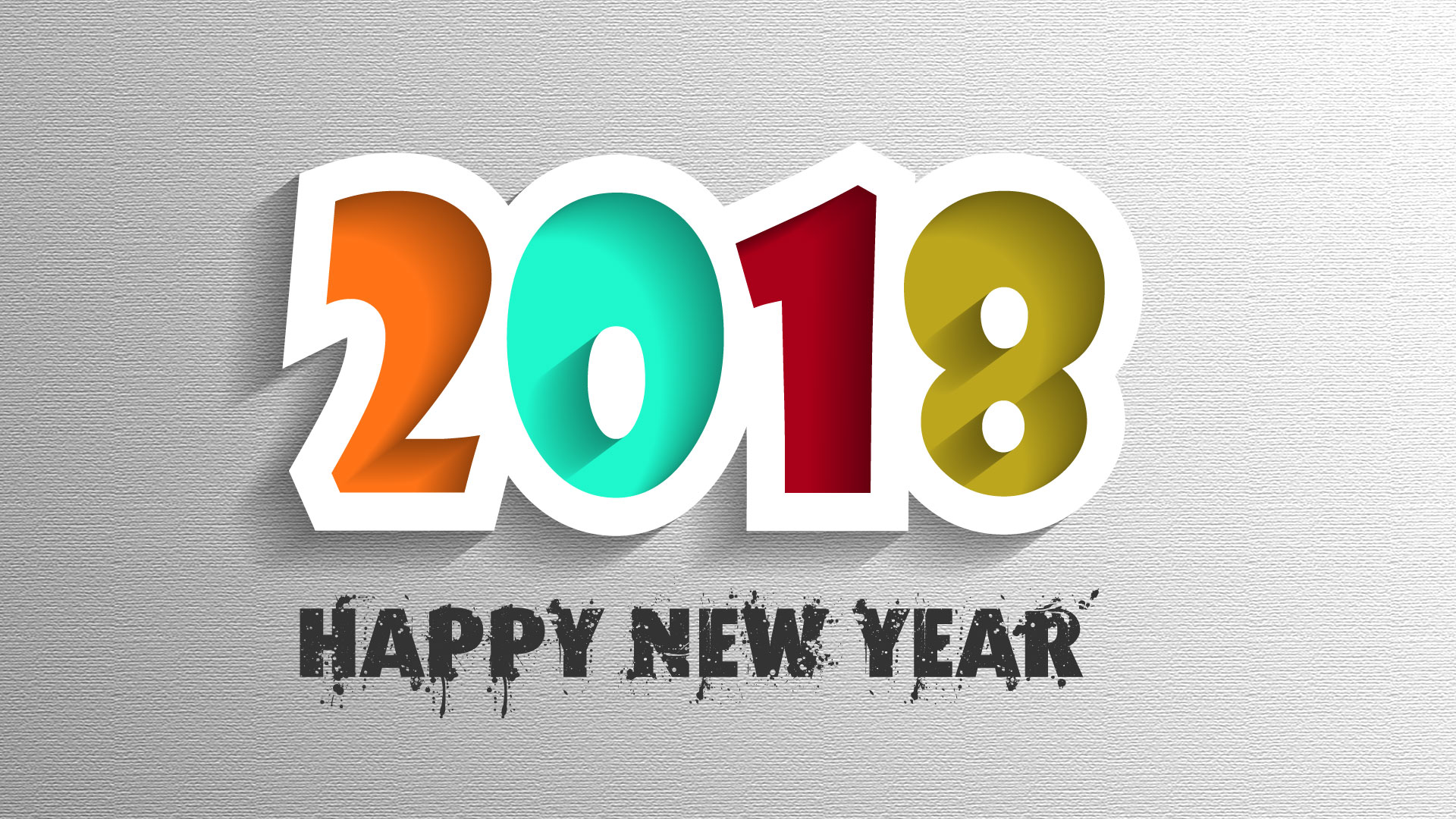 2018 happy new year desktop wallpaper 62291