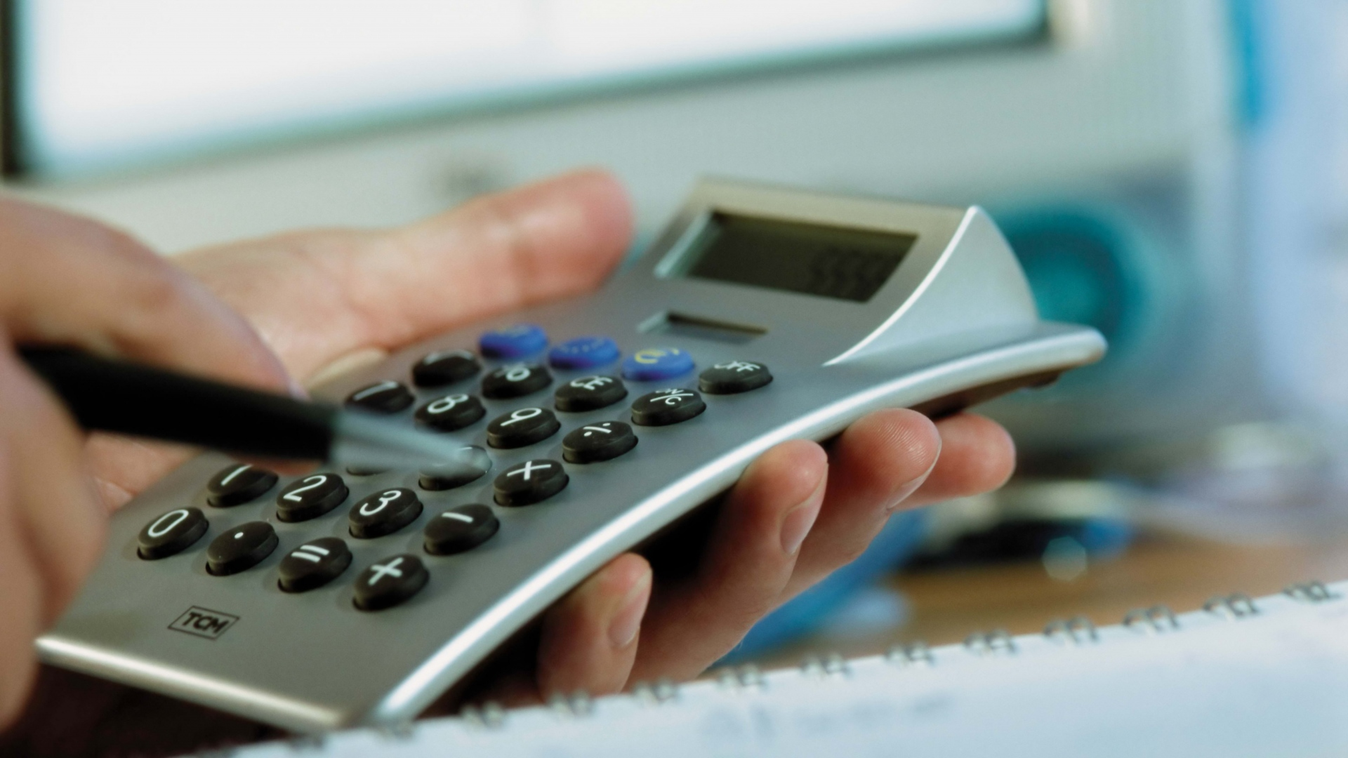 holding calculator photography wallpaper 61253