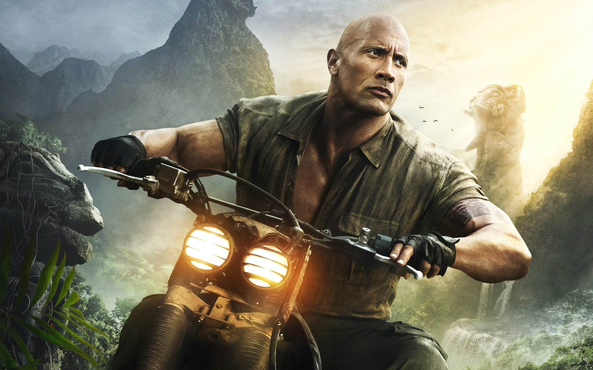 jumanji welcome to the jungle dwayne johnson wallpaper 62110