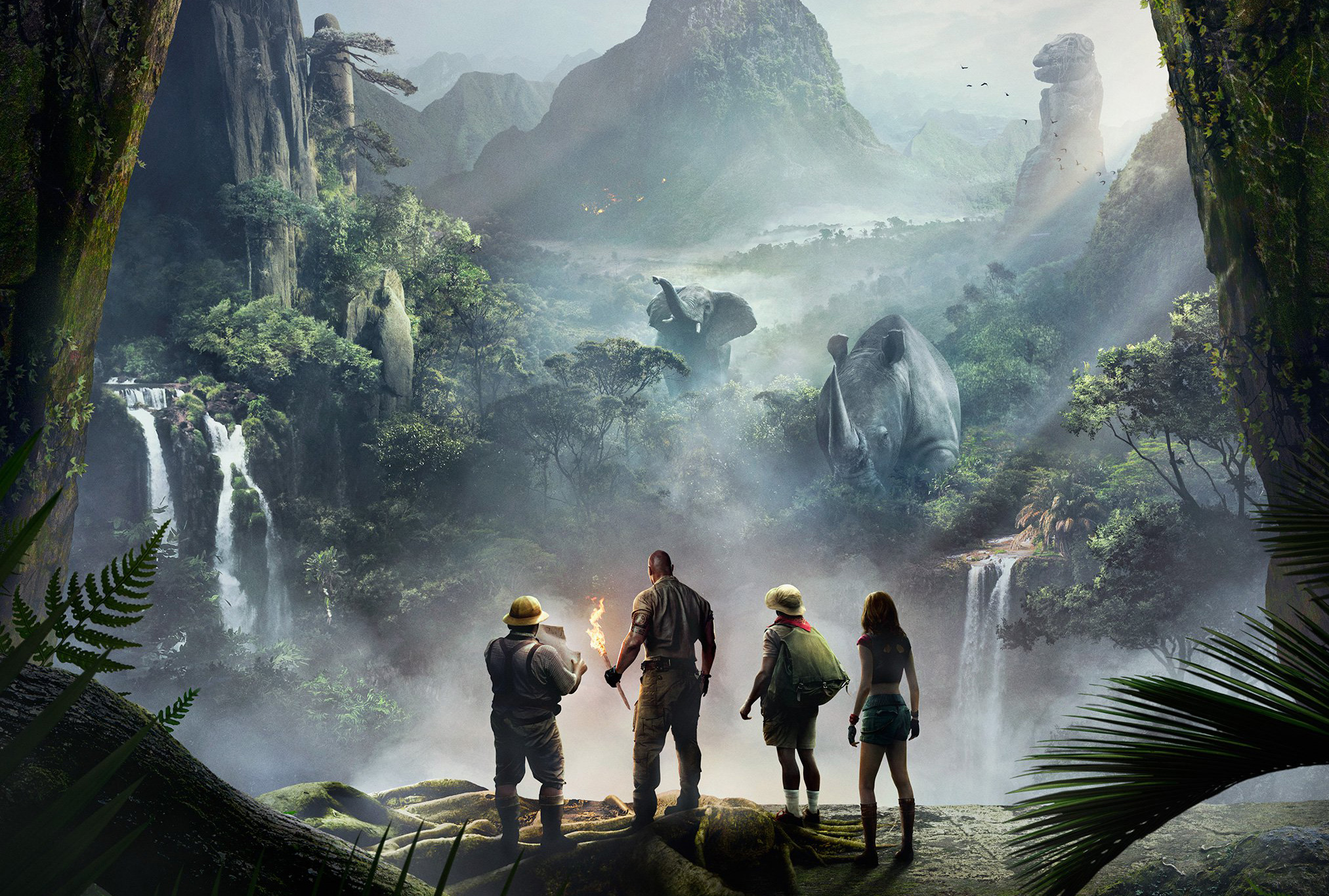 jumanji welcome to the jungle wallpaper background 62113