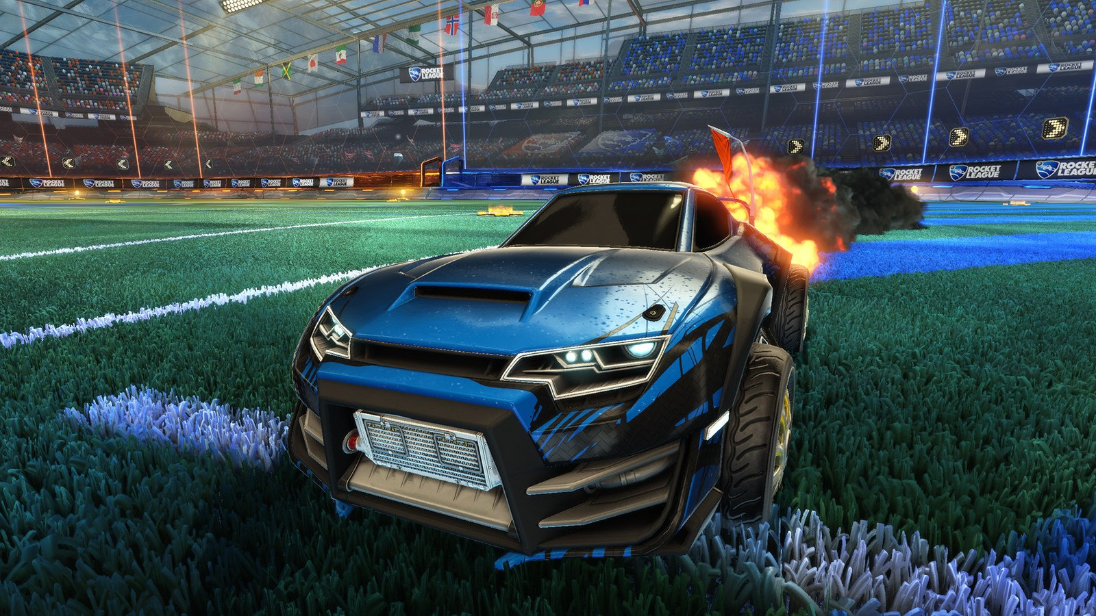 rocket league game computer wallpaper 61736
