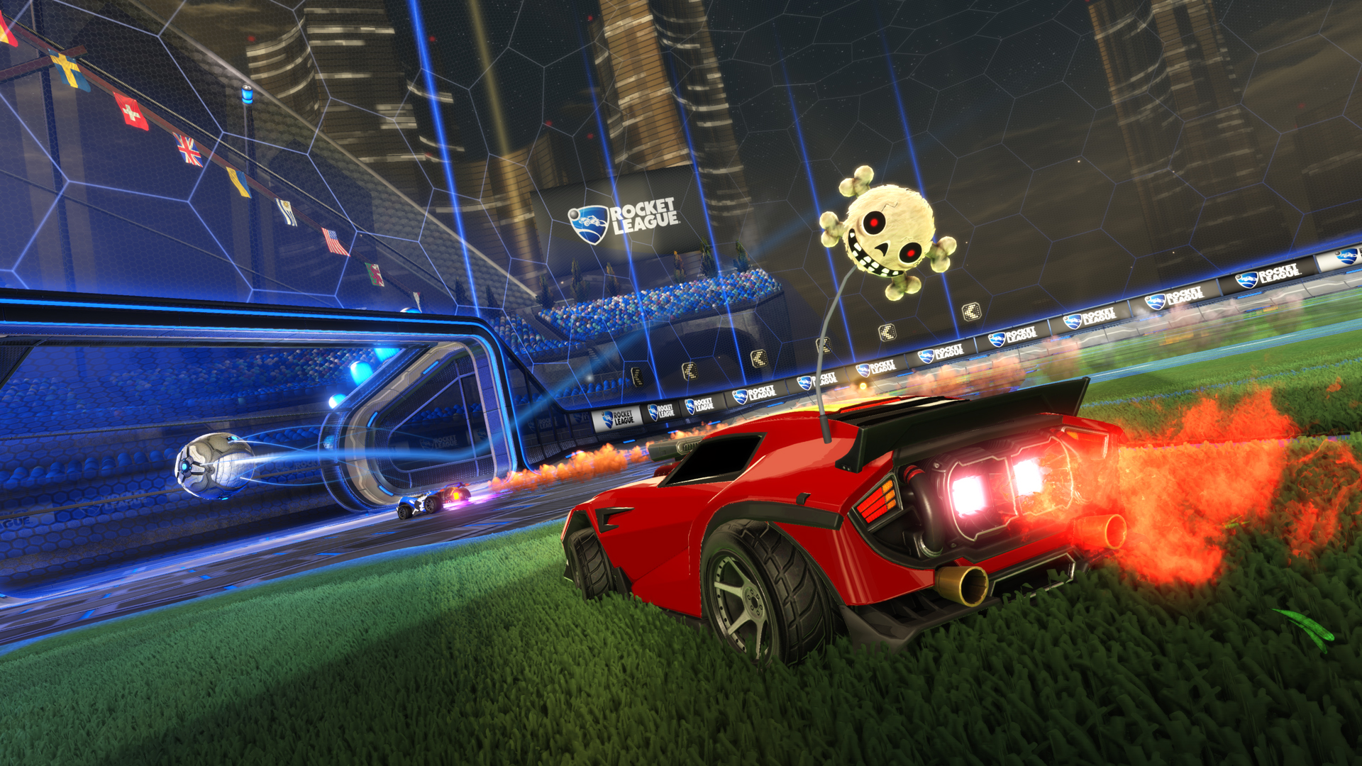 rocket league game desktop wallpaper 61732