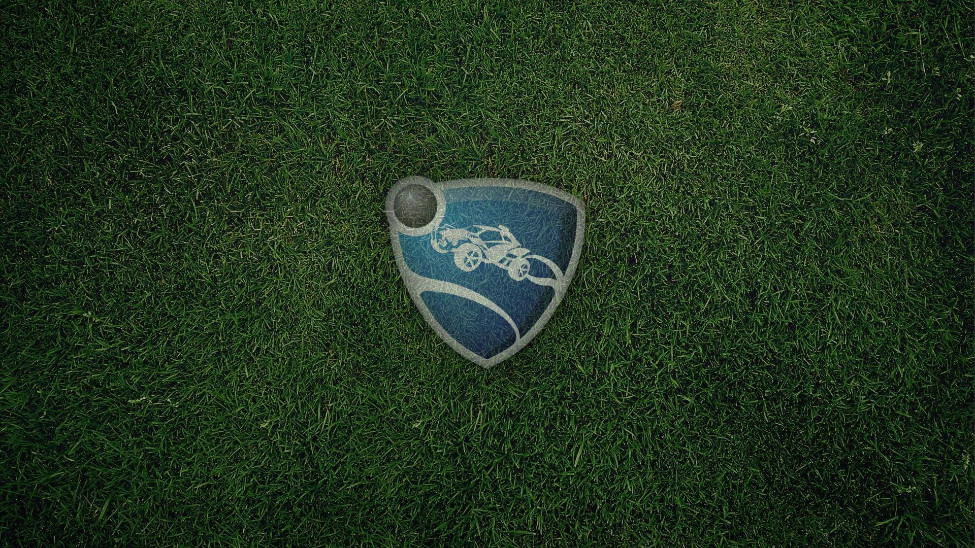 rocket league logo desktop wallpaper 61740