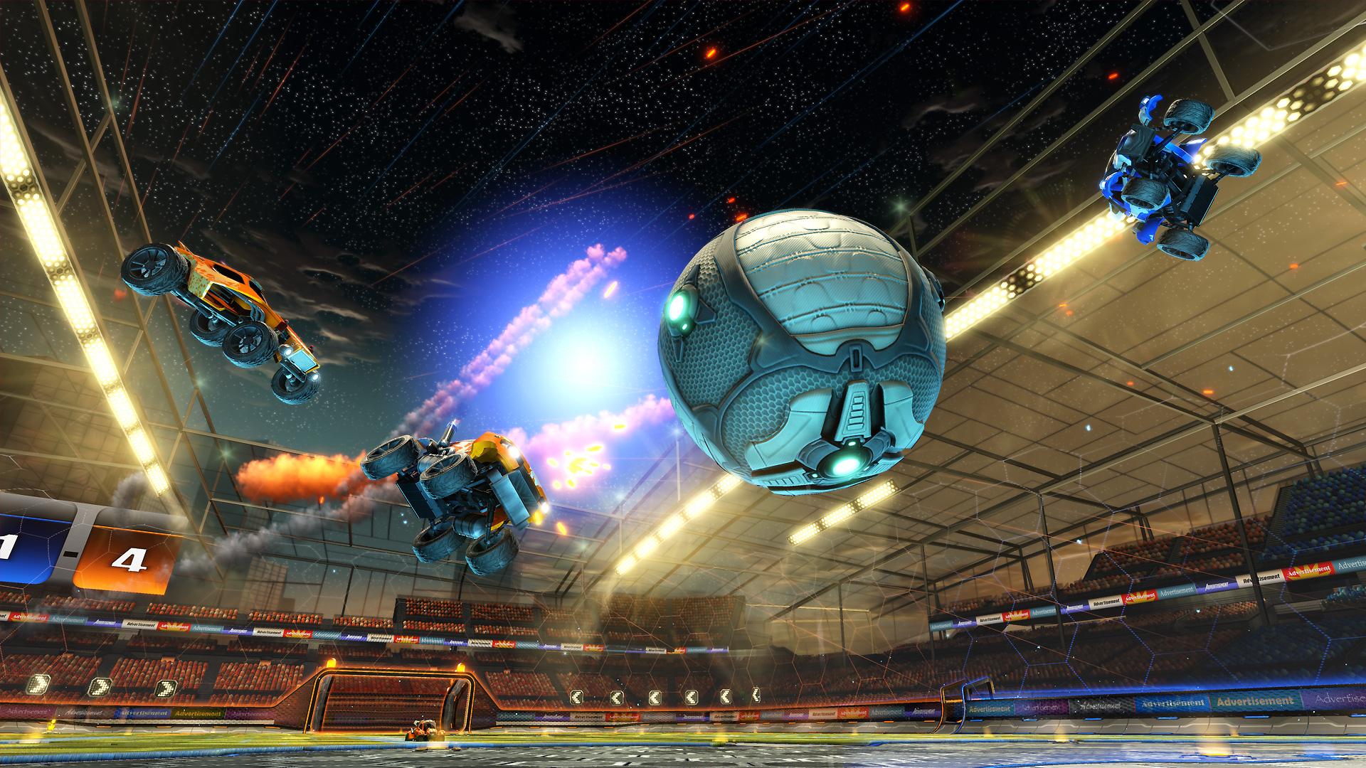 rocket league video game hd wallpaper 61728