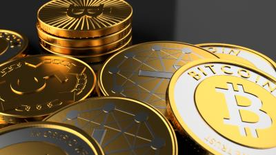 3D Bitcoins HD Wallpaper 62352