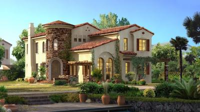 3D House Desktop Wallpaper 62359