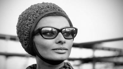 Sophia Loren Glasses Wallpaper 60309
