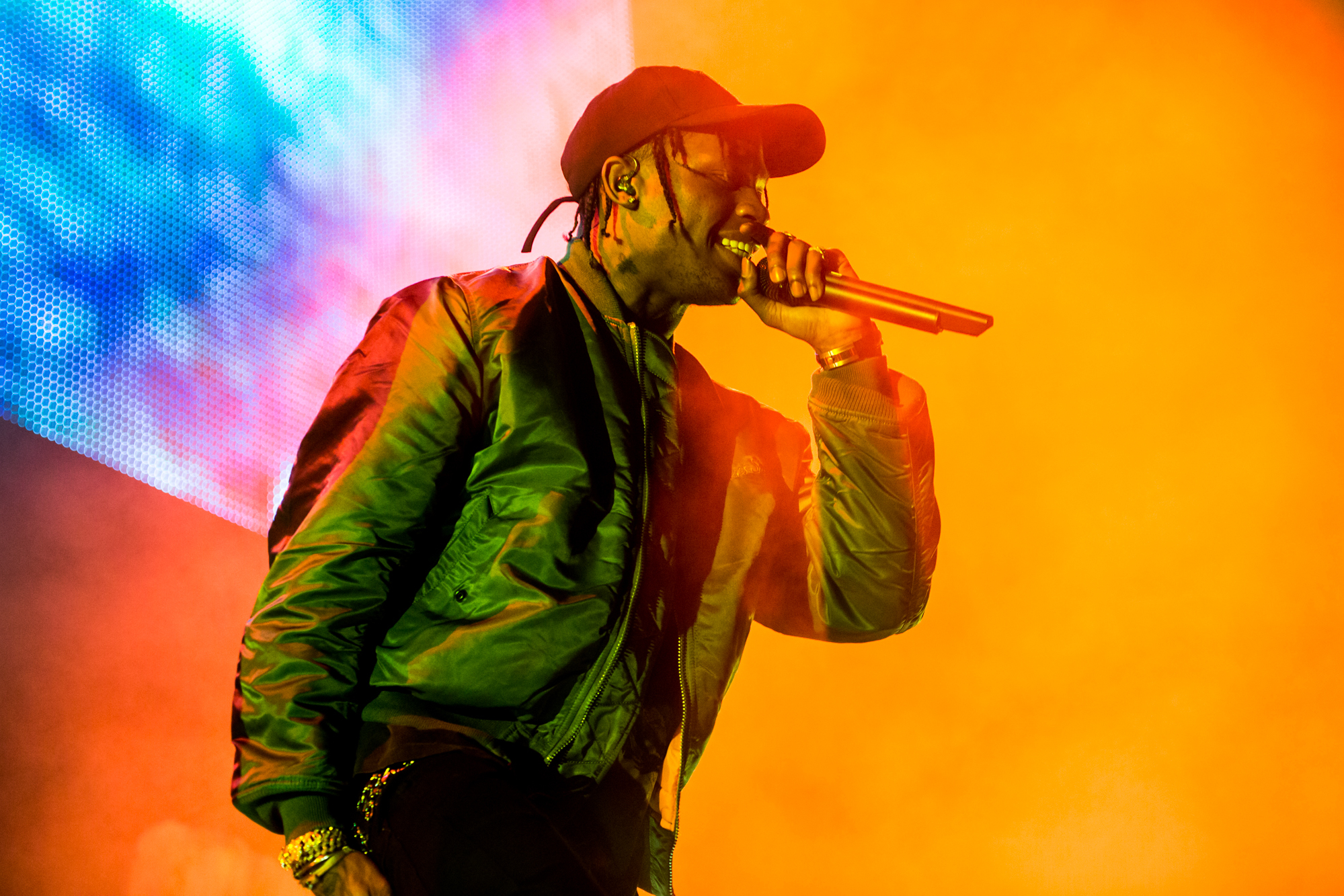 travis scott performing wallpaper 62073