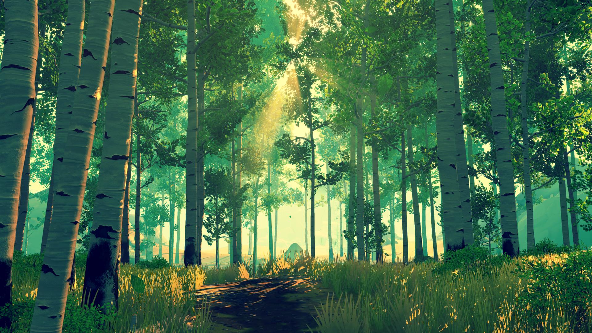 firewatch forest wallpaper 59157