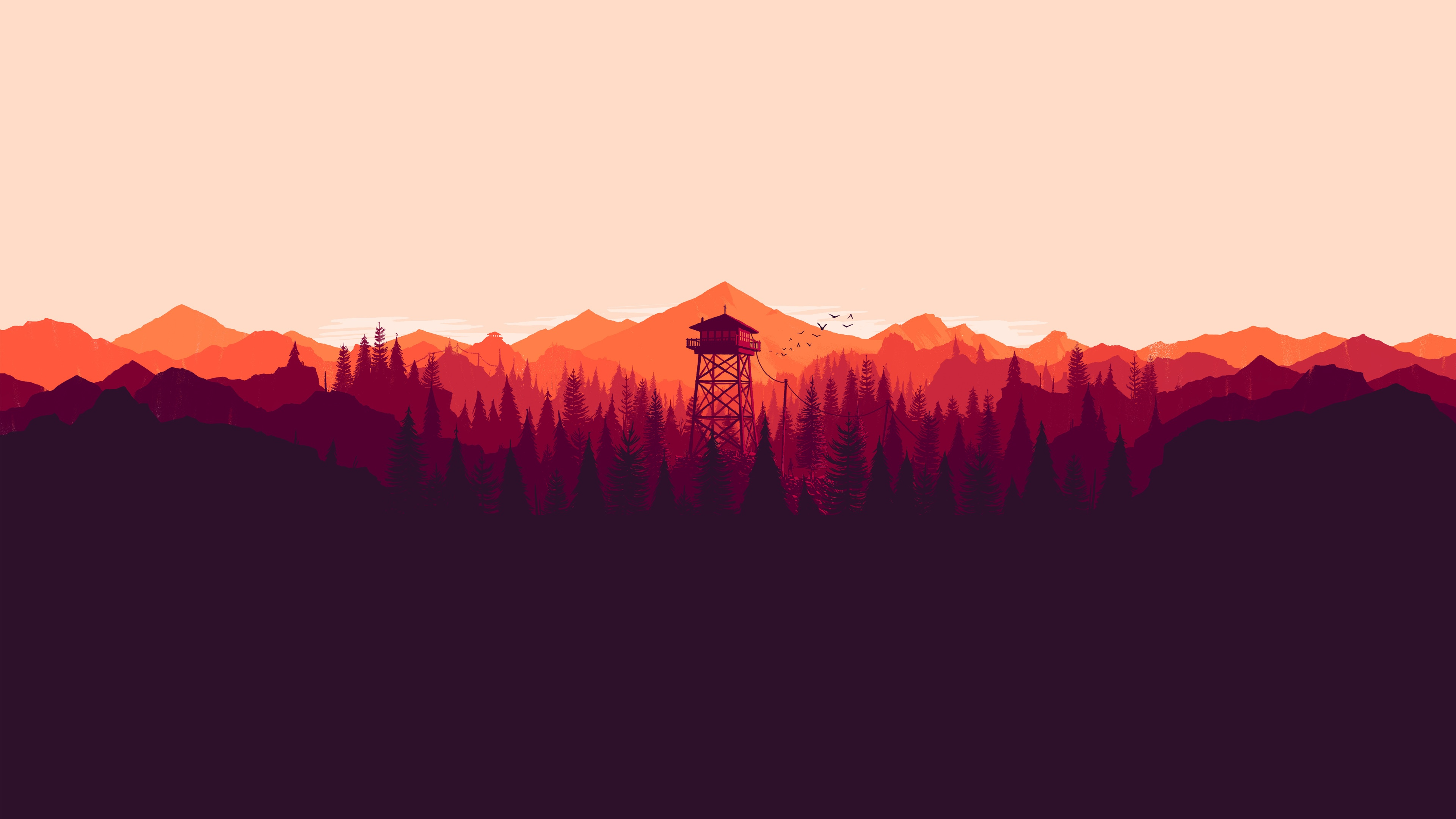firewatch widescreen hd wallpaper 59147