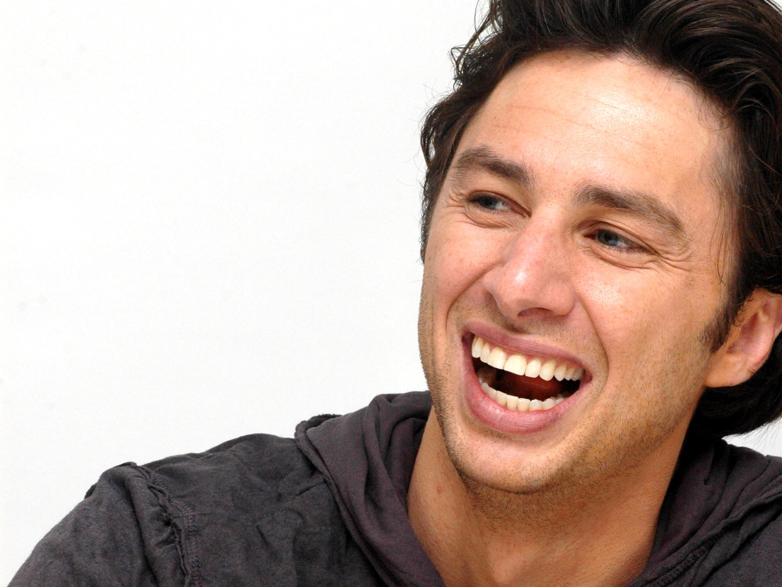 happy zach braff wallpaper 59303