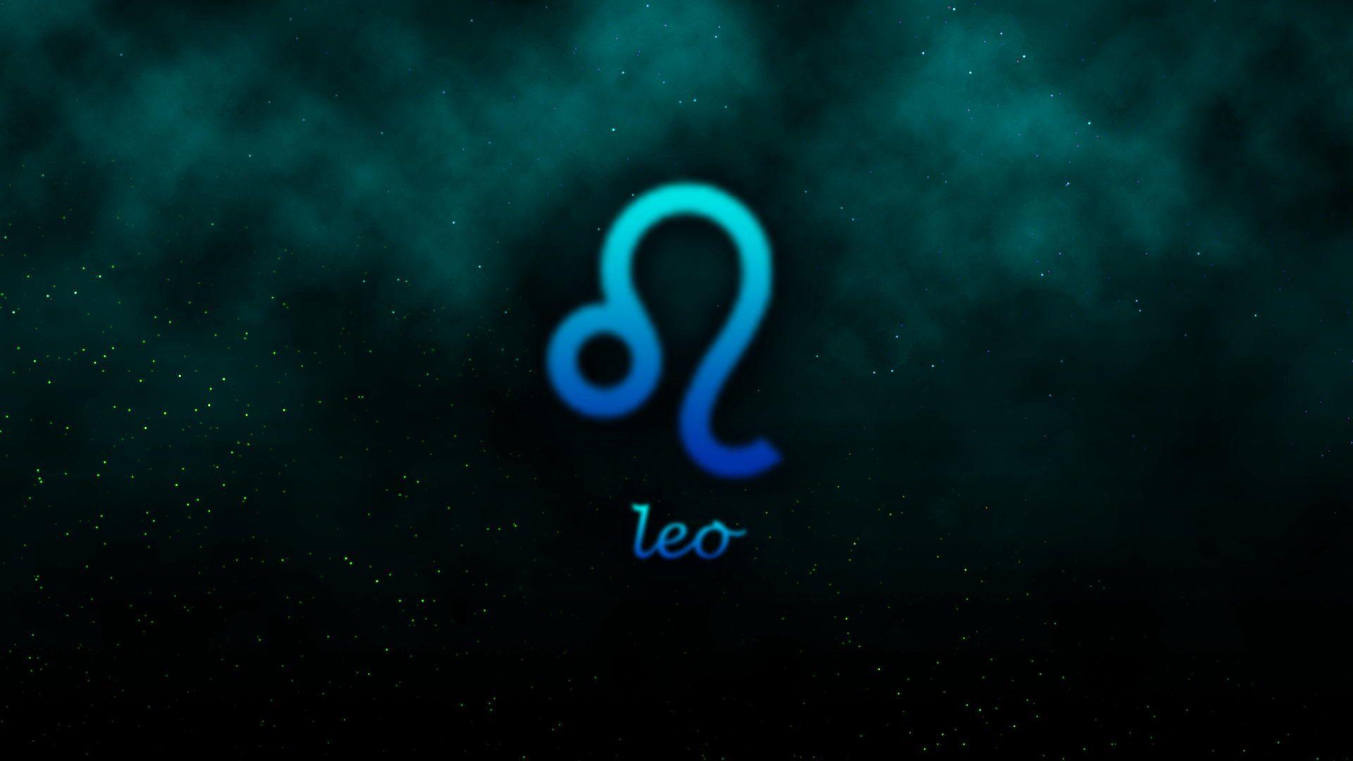 Leo Zodiac Sign Wallpaper 61297 1920x1080 Px