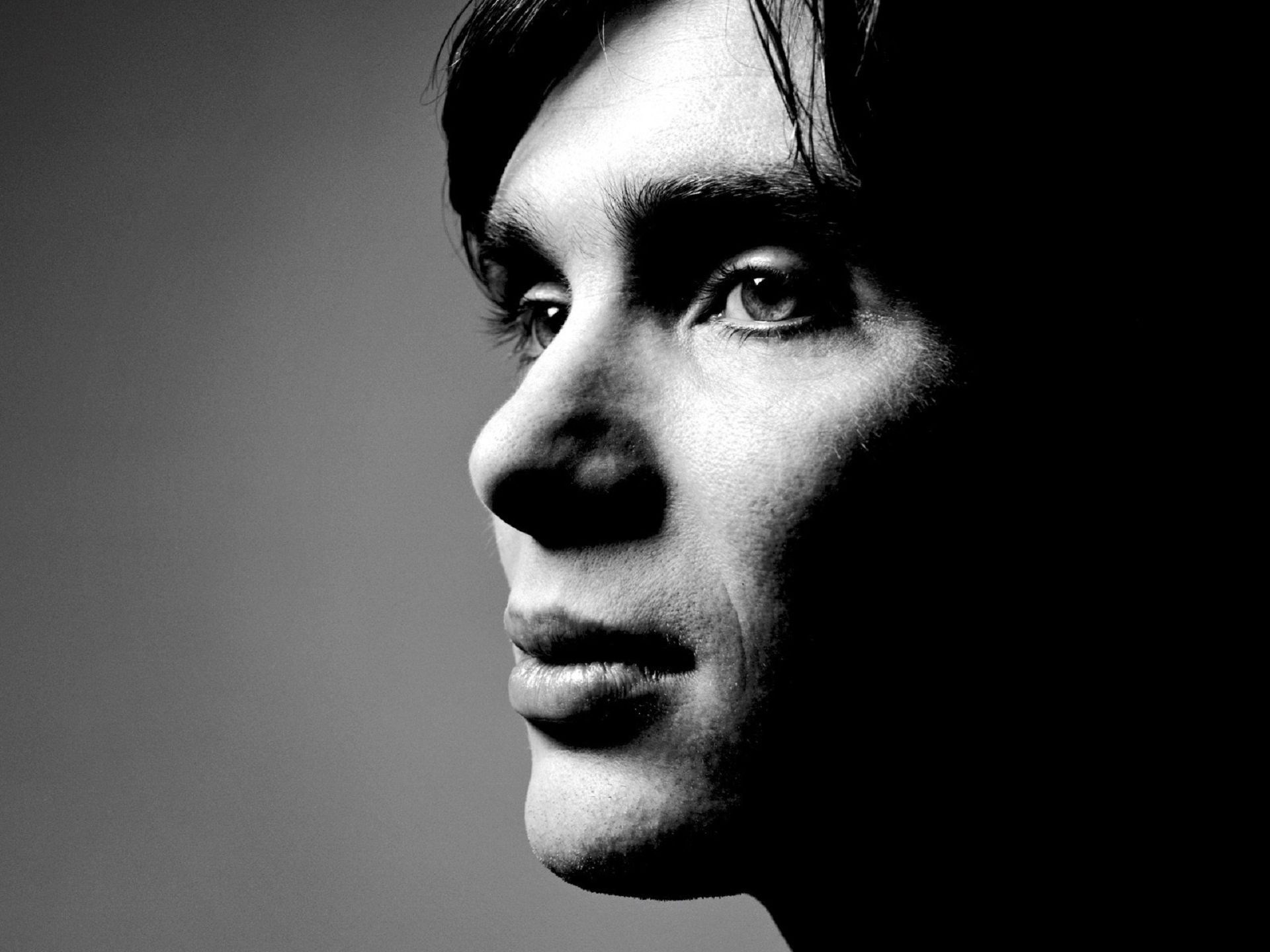 monochrome cillian murphy face wallpaper 59179