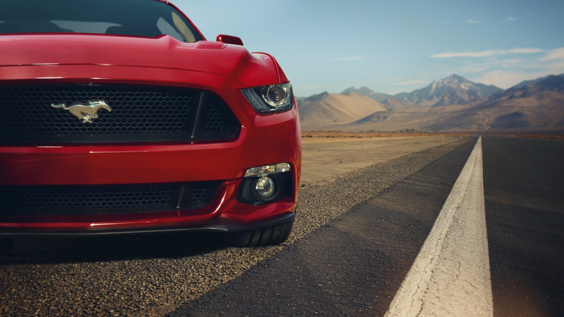 red mustang desktop wallpaper 62045