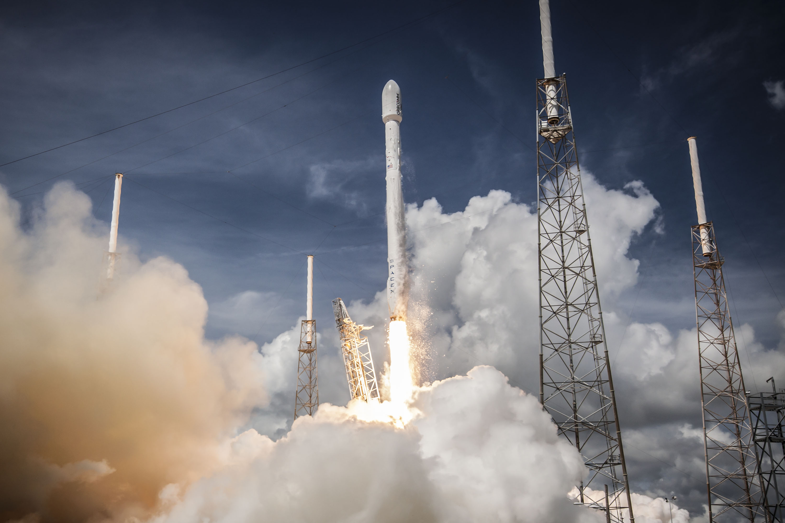 spacex widescreen wallpaper 59808