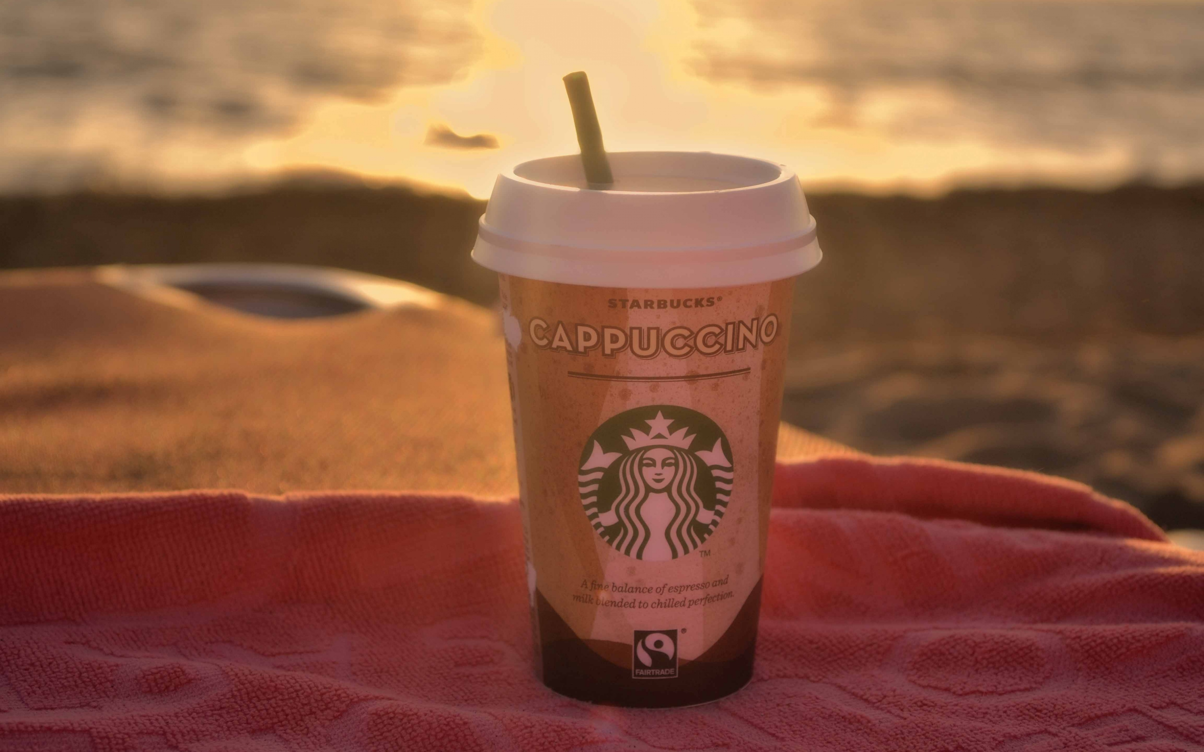 starbucks coffee cappuccino widescreen wallpaper 61869