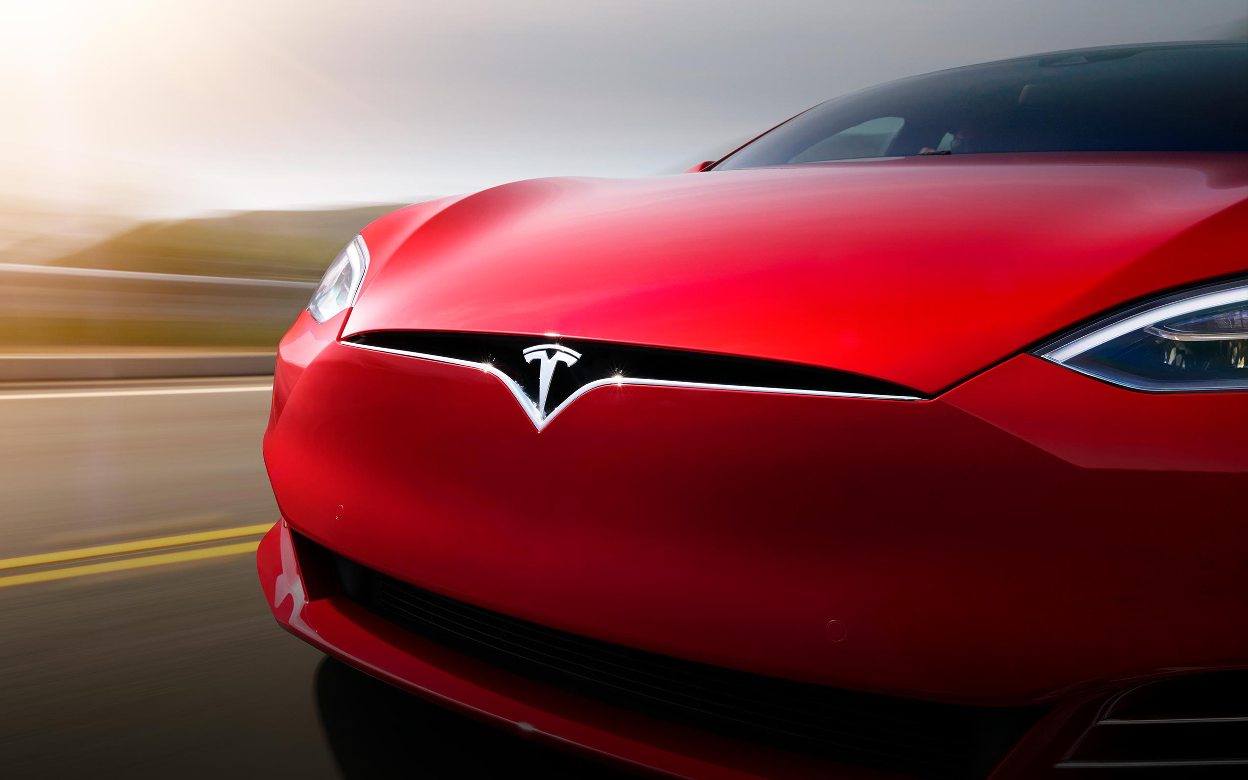 tesla model x widescreen hd wallpaper 62156 3840x2562 px