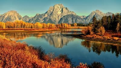 Autumn River Wallpaper 60491