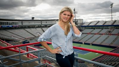 Eugenie Bouchard Widescreen Wallpaper 60155