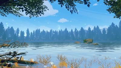 Firewatch Lake Wallpaper 59160