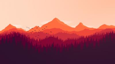 Firewatch Landscape Wallpaper 59154