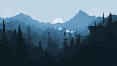 Firewatch Landscape Wallpaper Background 59165