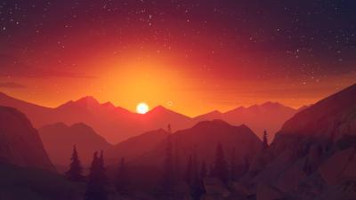 Firewatch Sunset Wallpaper 59150