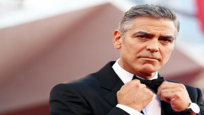 George Clooney Celebrity Wide Wallpaper 59465