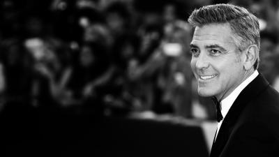 George Clooney Smile Wallpaper 59480