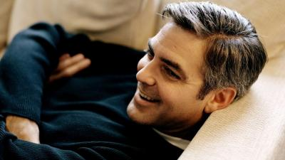 Happy George Clooney Wallpaper 59466