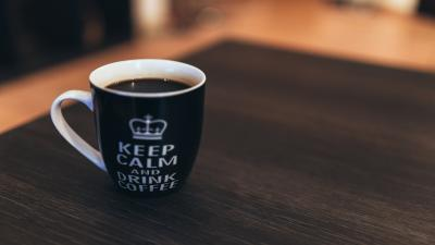 Keep Calm and Drink Coffee Cup Wallpaper 61871
