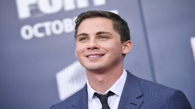 Logan Lerman Celebrity Smile Wallpaper 60635
