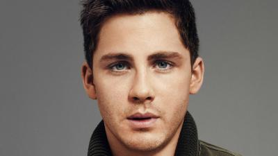 Logan Lerman Face Wallpaper 60623