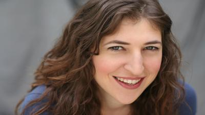 Mayim Bialik Smile Widescreen Wallpaper 59296