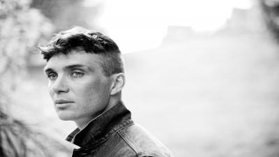Monochrome Cillian Murphy Short Hair Wallpaper 59178