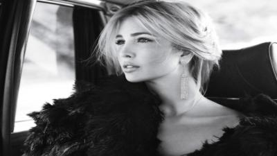 Monochrome Ivanka Trump Wallpaper 60245