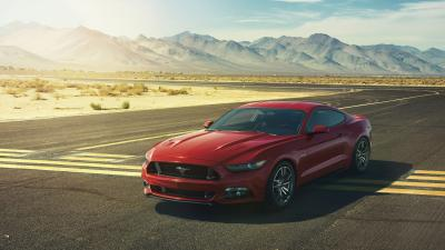 Red Ford Mustang Wallpaper Background 62043