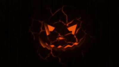 Scary Digital Art Pumpkin Wallpaper 61982