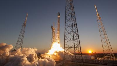 SpaceX Launch Widescreen Wallpaper 59807